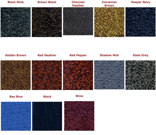 Classic Solutions Colors | Treasure Coast Mats