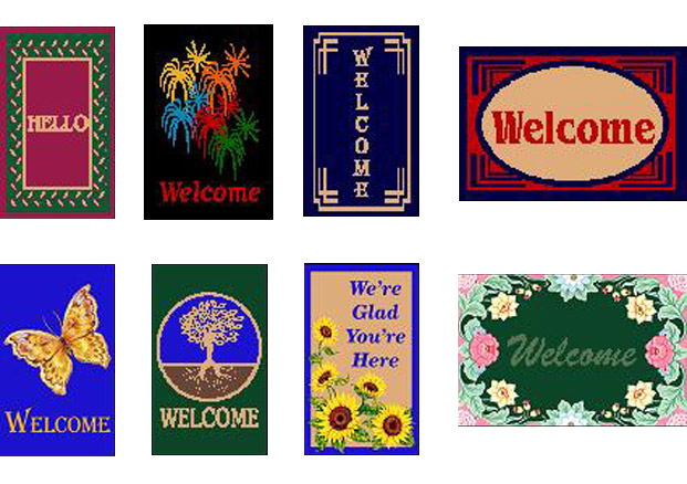 Welcome Mats | Treasure Coast Mats